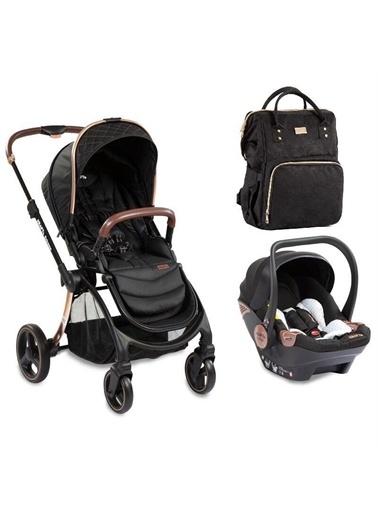 Kraft Kraft Extreme Travel Sistem Bebek Arabası +Kraft Çanta Hediyeli Siyah